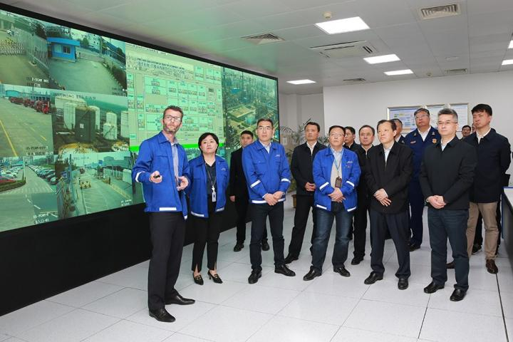 Vice Minister LIU Wei Visited BYC